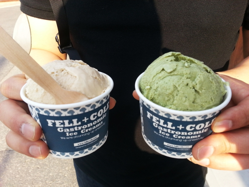 The time we ate this delicious ice cream at Fell & Cole, except this ice cream shop was the hardest place to find ever