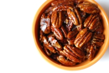 Maple & Cinnamon Candied Pecans